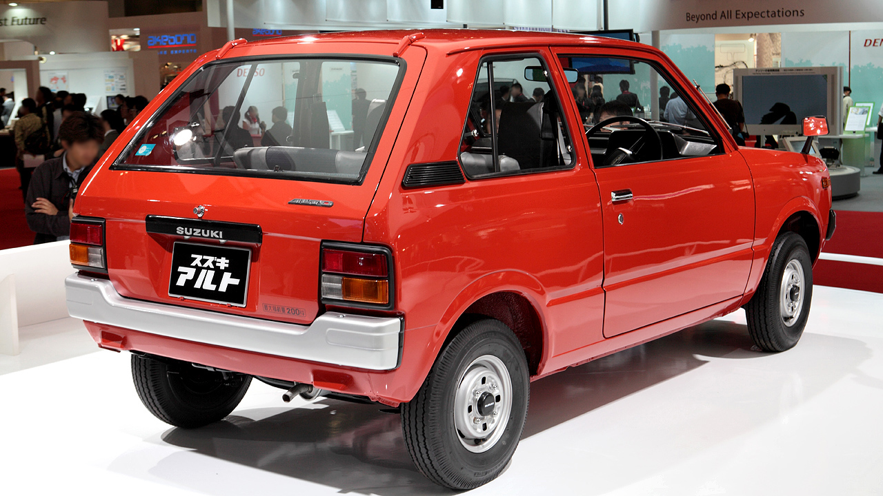 Suzuki Alto I 1979 - 1984 Hatchback 3 door #4