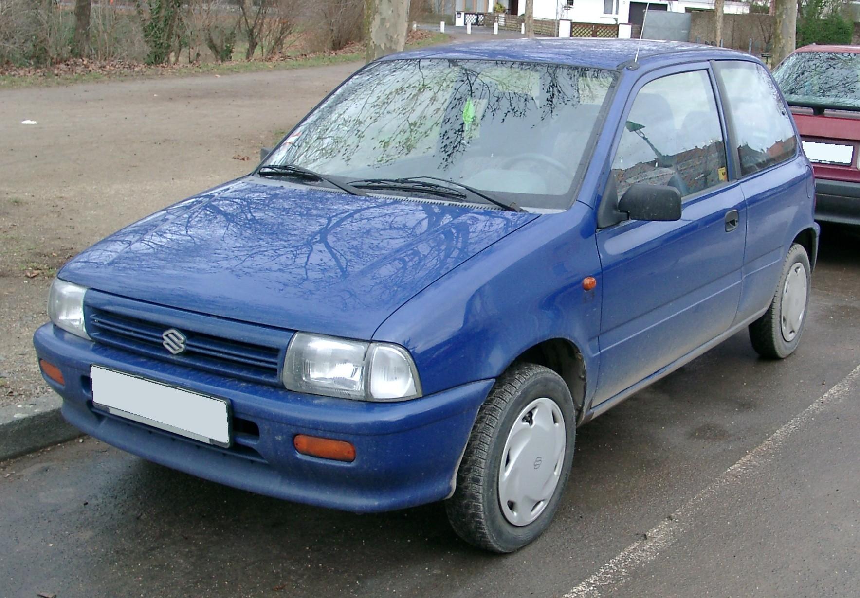 Suzuki Alto III 1988 - 1994 Hatchback 3 door #1