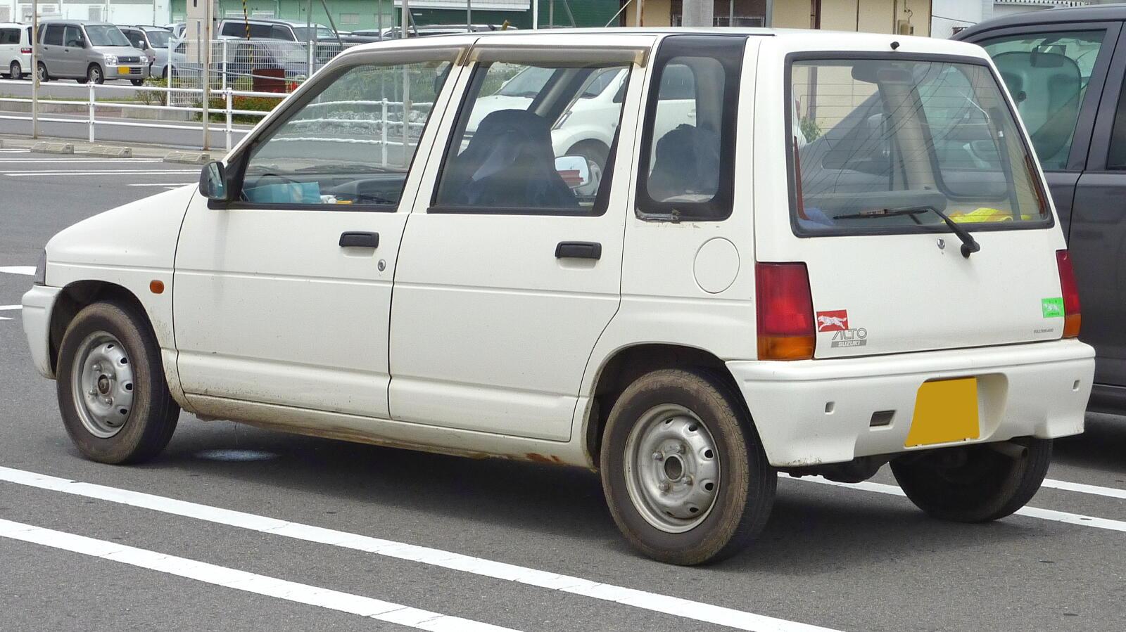 Suzuki Alto III 1988 - 1994 Hatchback 3 door #5