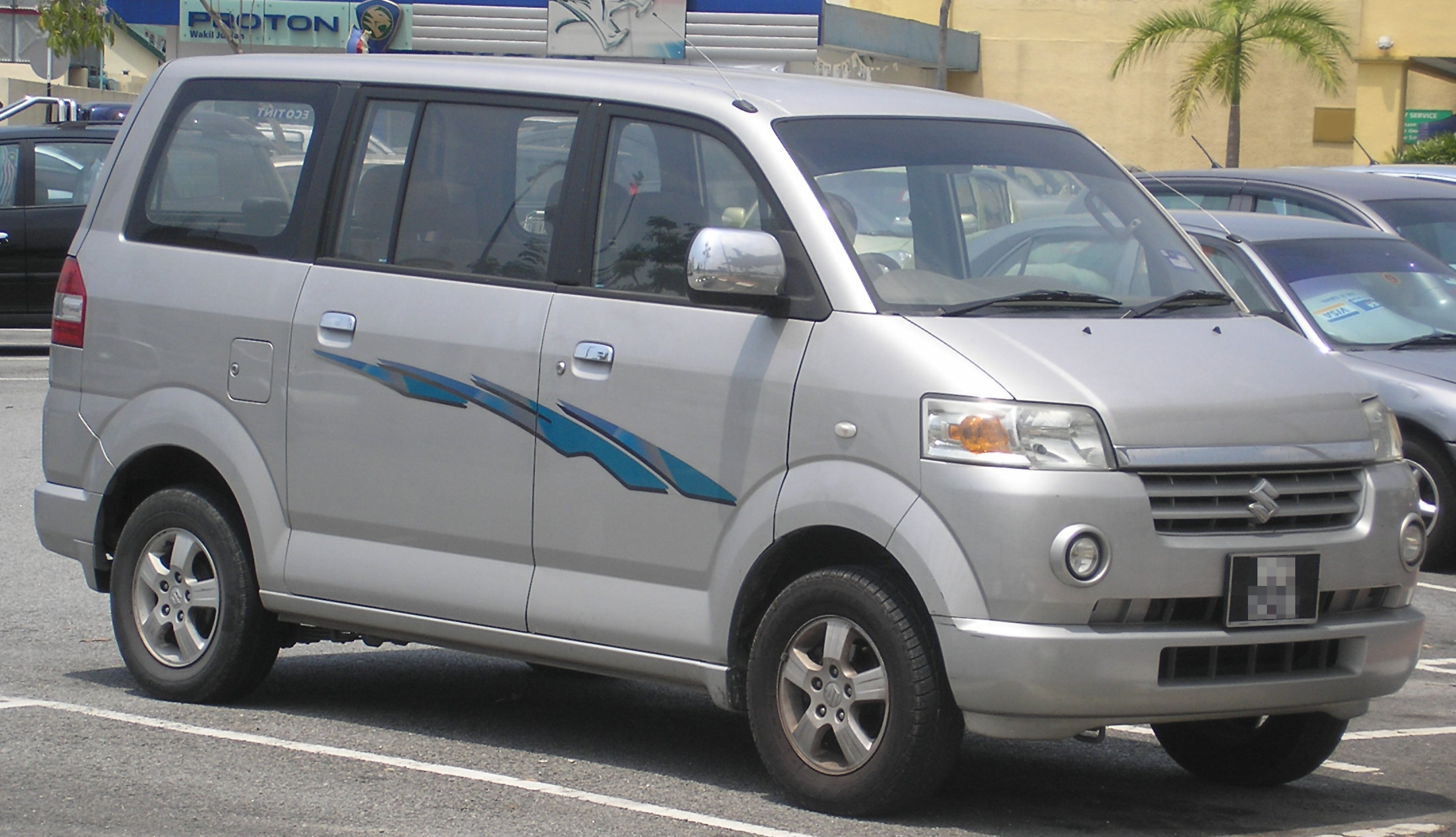 Suzuki APV I 2004 - now Minivan #5