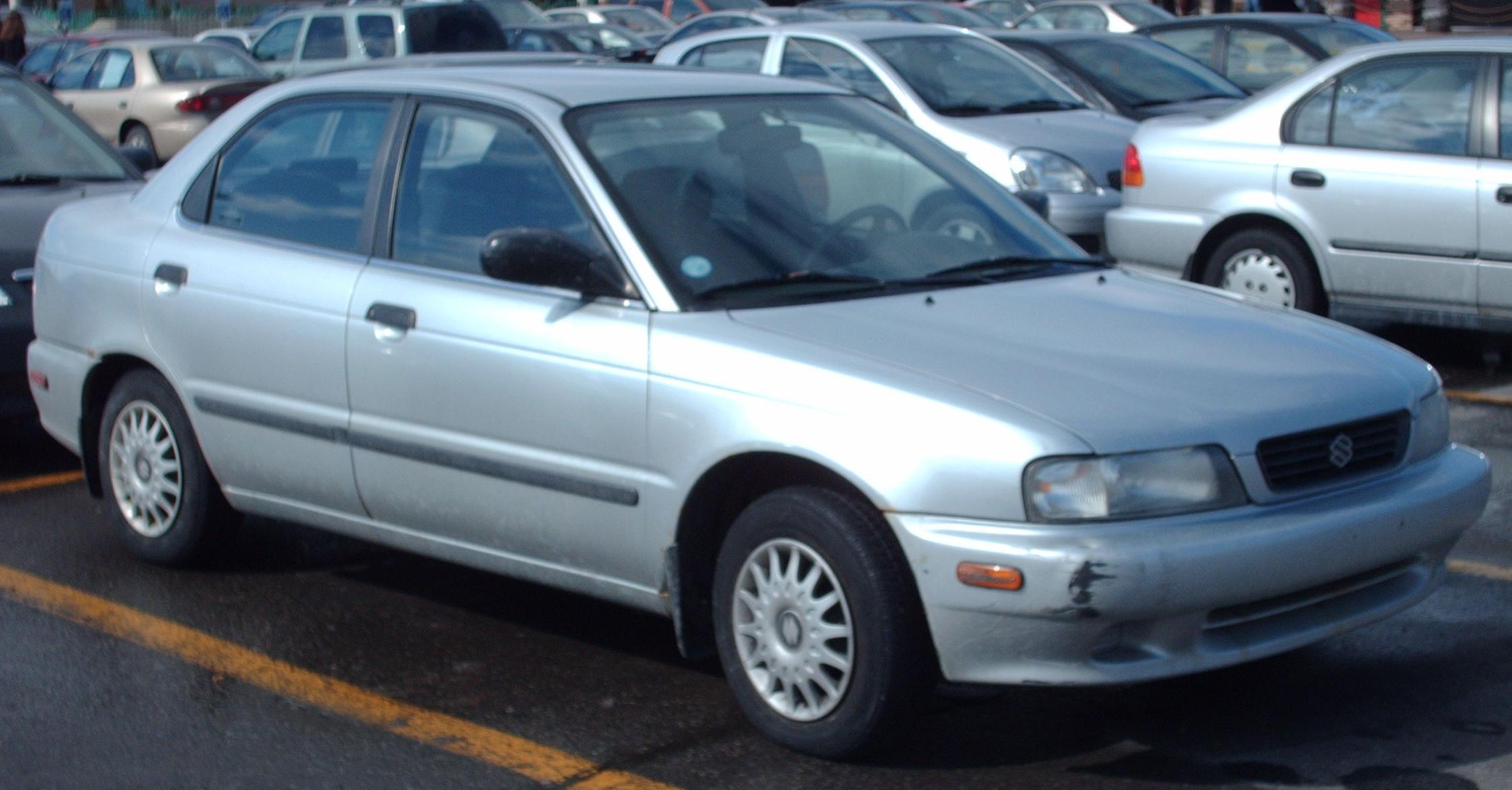 Suzuki Baleno I 1995 - 2002 Sedan #7