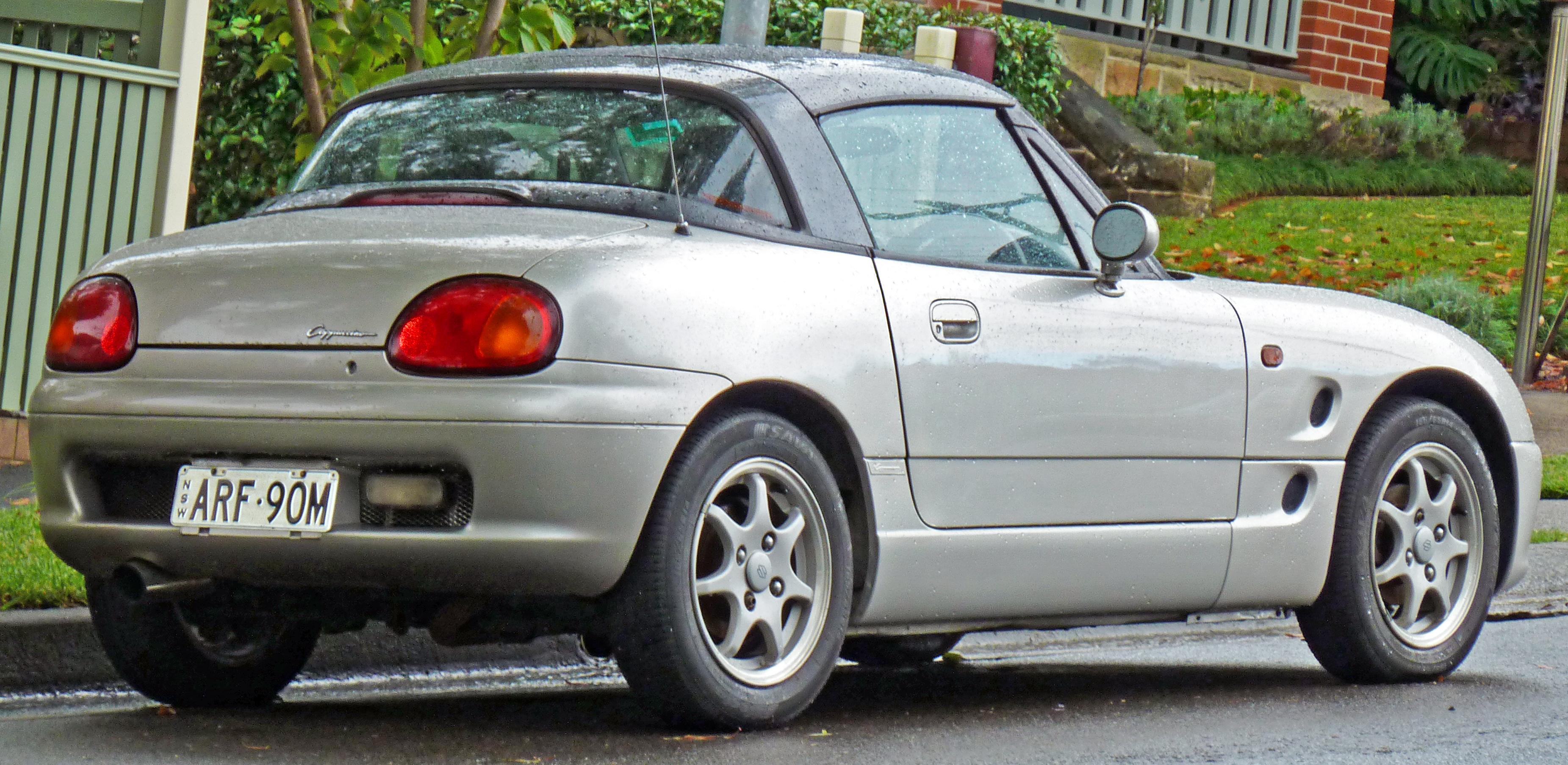 Suzuki Cappuccino 1991 - 1997 Roadster #4