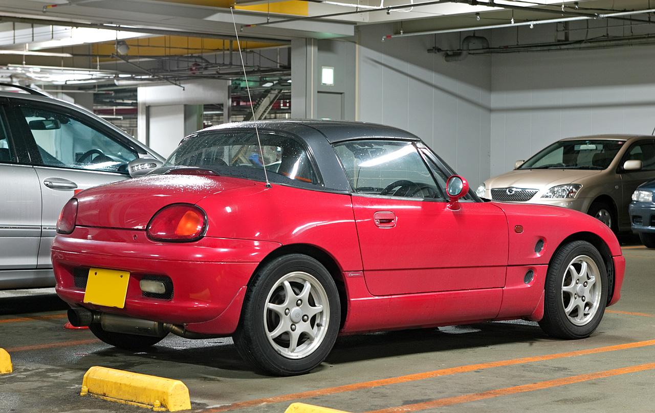 Suzuki Cappuccino 1991 - 1997 Roadster #5