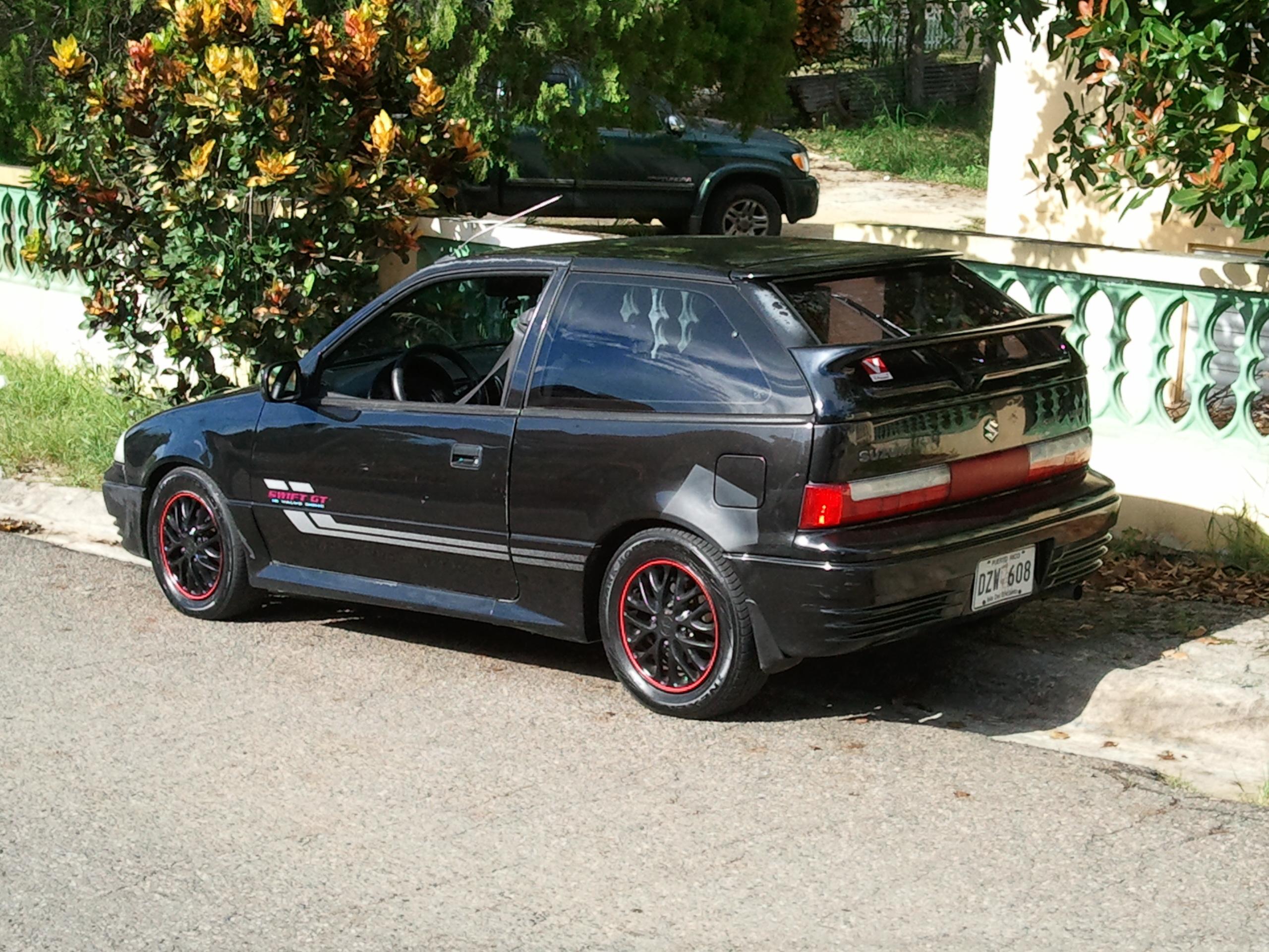 Suzuki Cara 1993 - 1995 Coupe #2