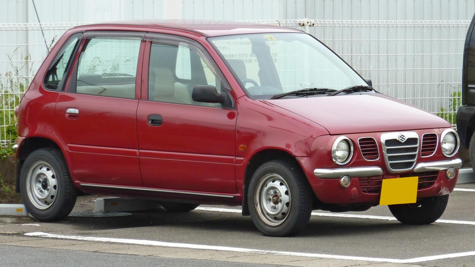 Suzuki Cervo III 1988 - 1990 Hatchback 3 door #8