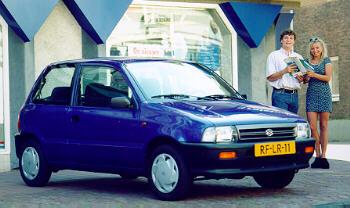 Suzuki Cervo III 1988 - 1990 Hatchback 3 door #3
