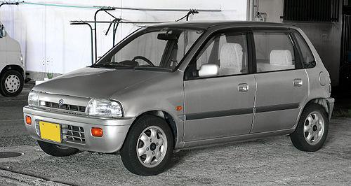 Suzuki Cervo III 1988 - 1990 Hatchback 3 door #4