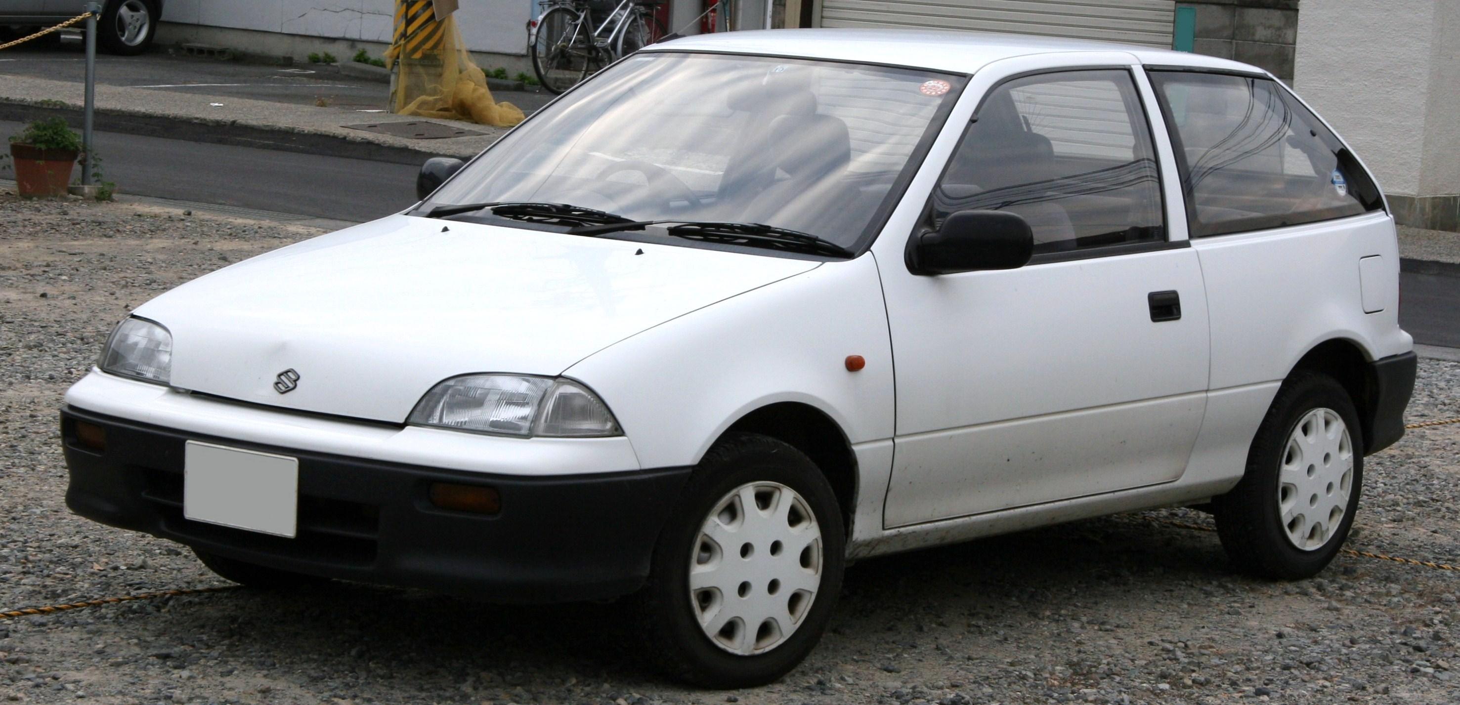 Suzuki Cultus II 1988 - 1998 Hatchback 3 door #3