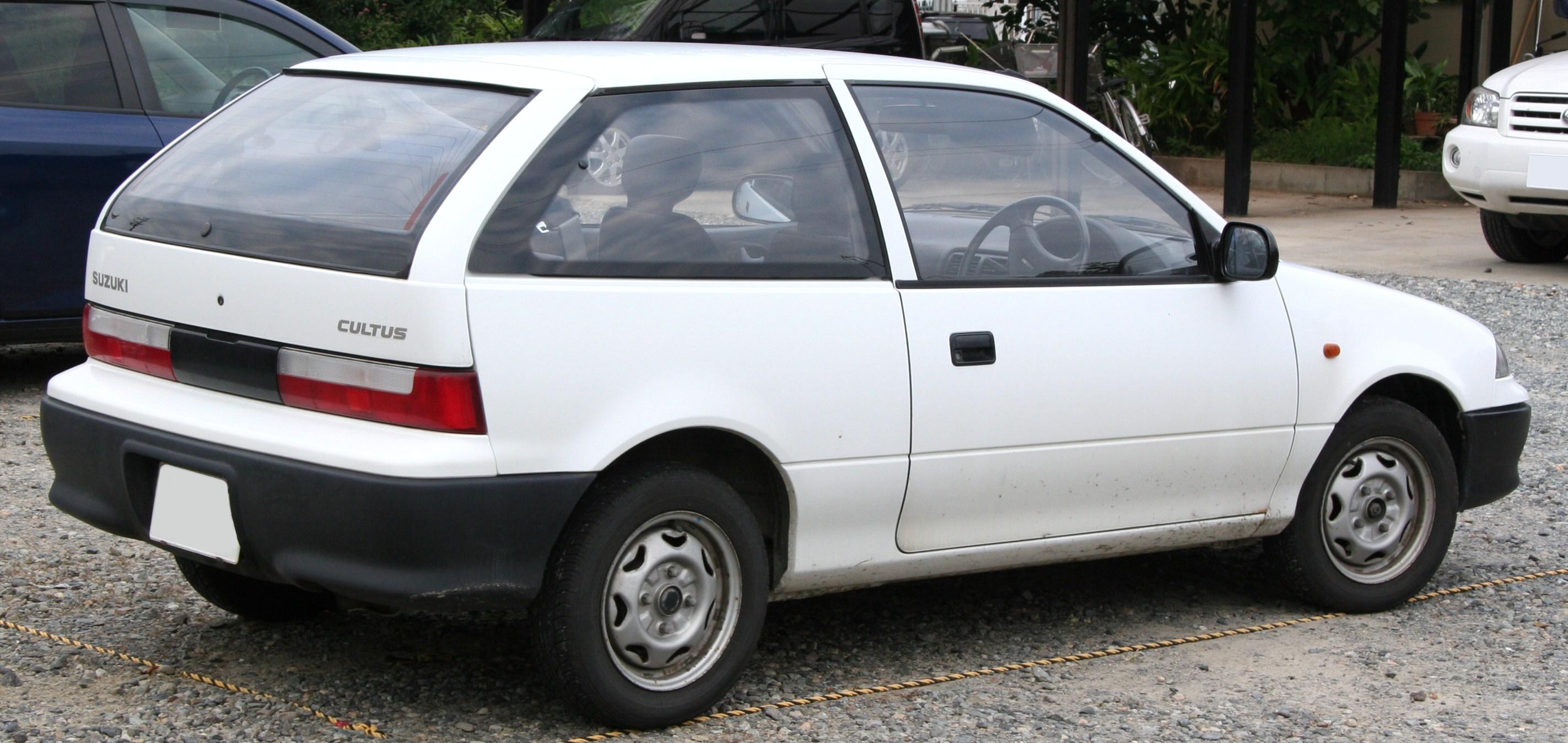 Suzuki Cultus I 1983 - 1988 Hatchback 3 door #4