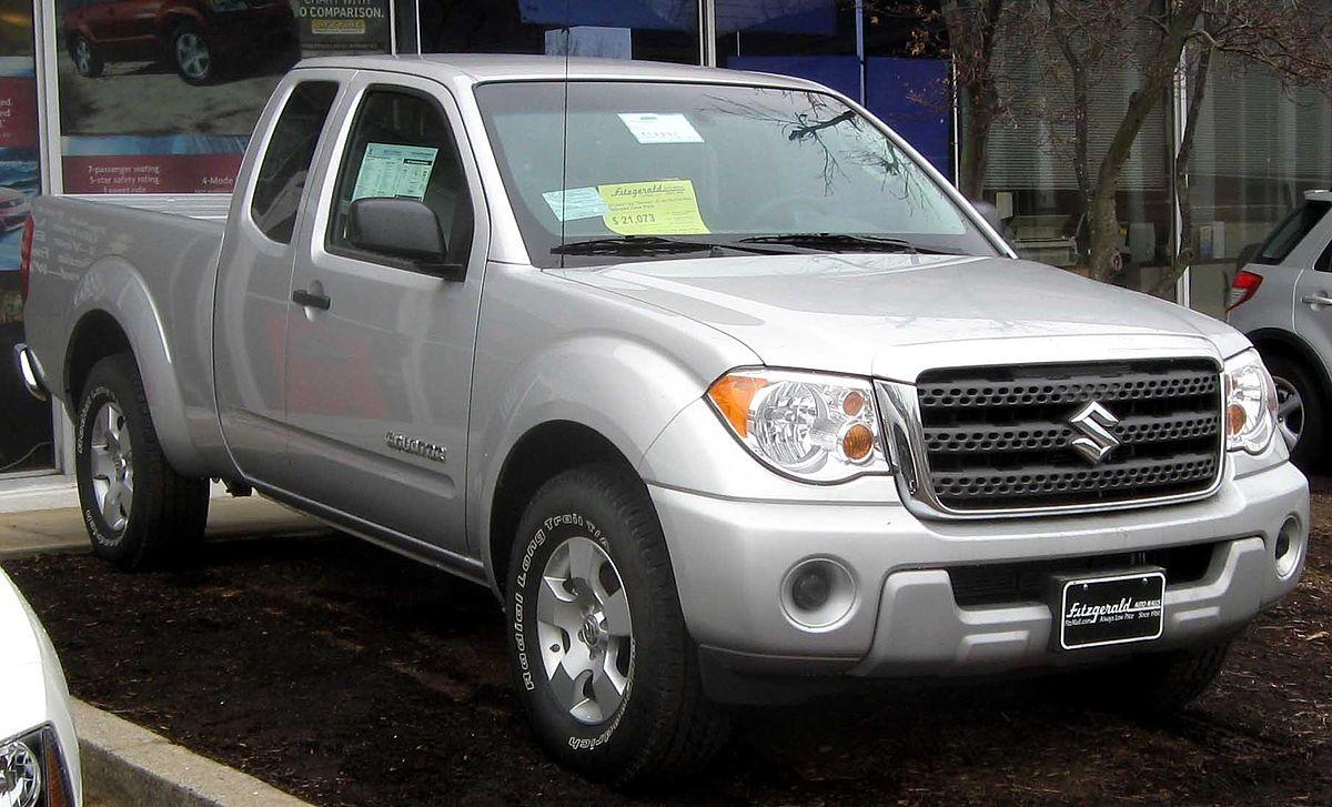 Suzuki Equator I 2008 - 2012 Pickup #8