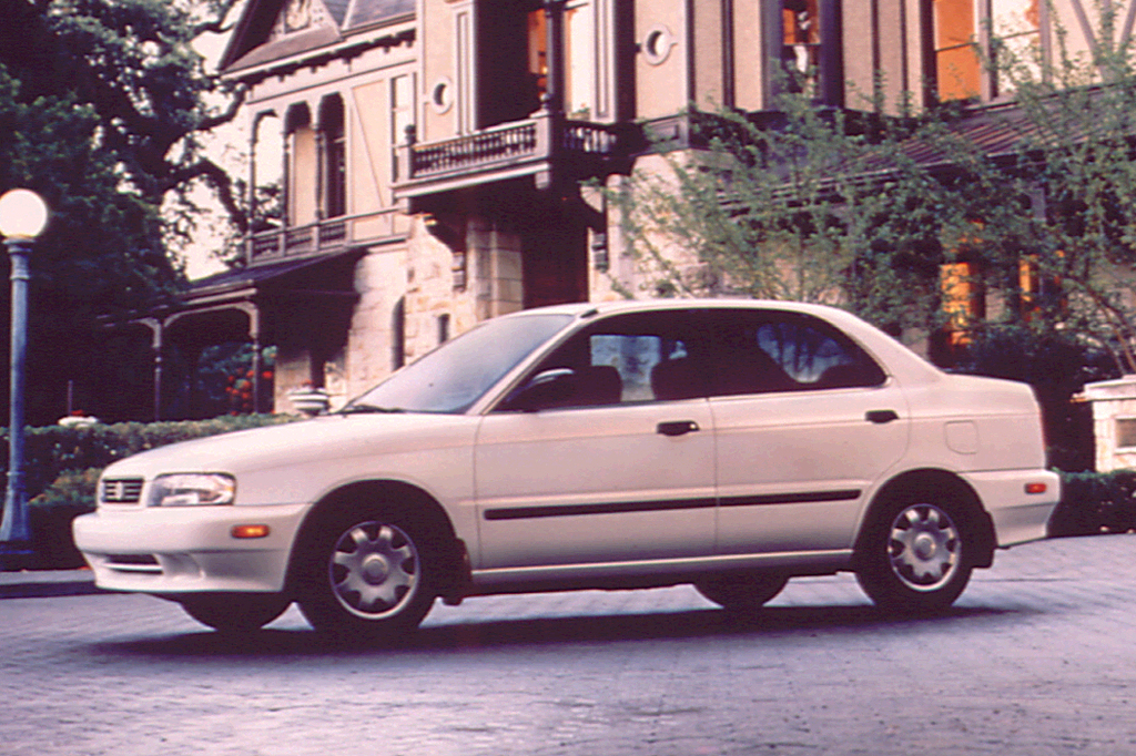 Suzuki Esteem 1995 - 2004 Sedan #3