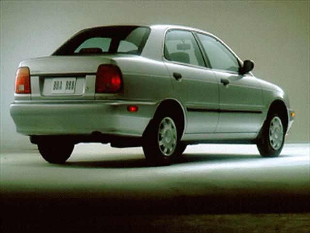 Suzuki Esteem 1995 - 2004 Sedan #4