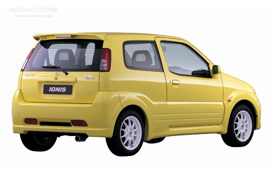 Suzuki Ignis I (HT) 2000 - 2006 Hatchback 3 door #6