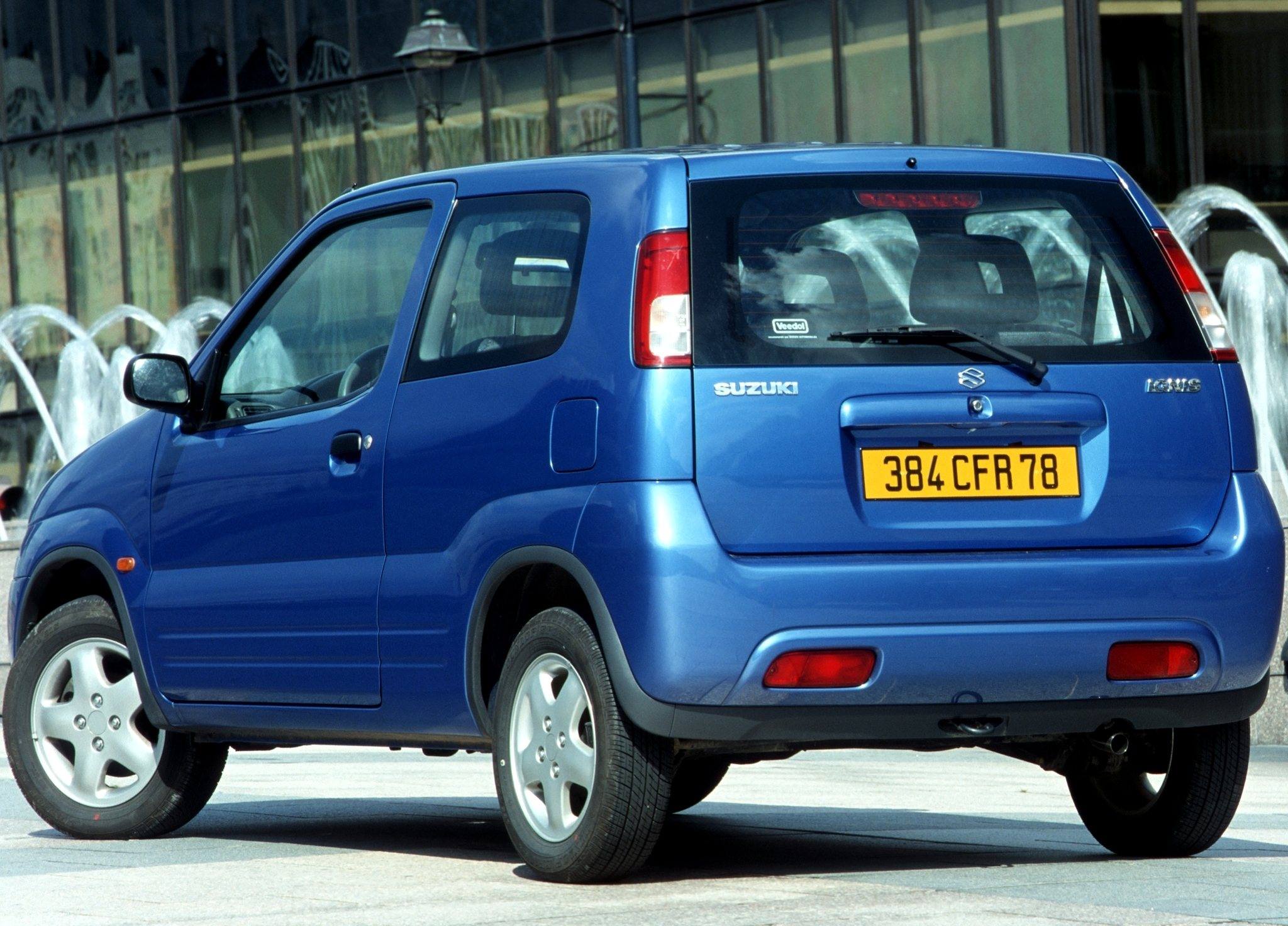 Suzuki Ignis I (HT) 2000 - 2006 Hatchback 3 door #5