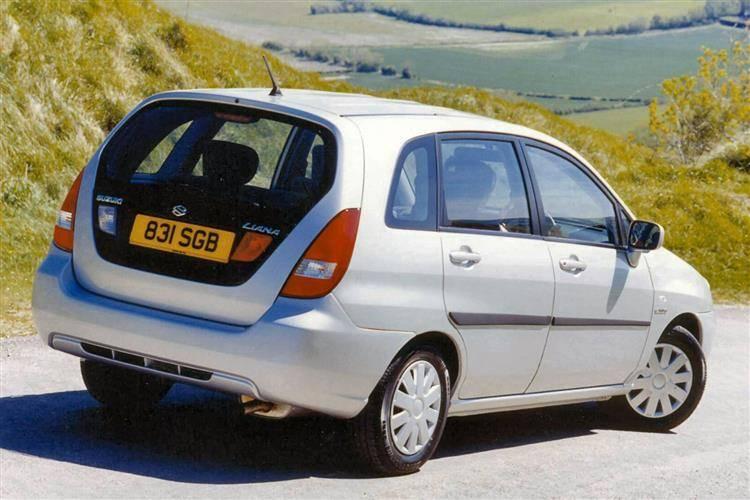 Suzuki Liana I Restyling 2004 - 2008 Station wagon 5 door #7