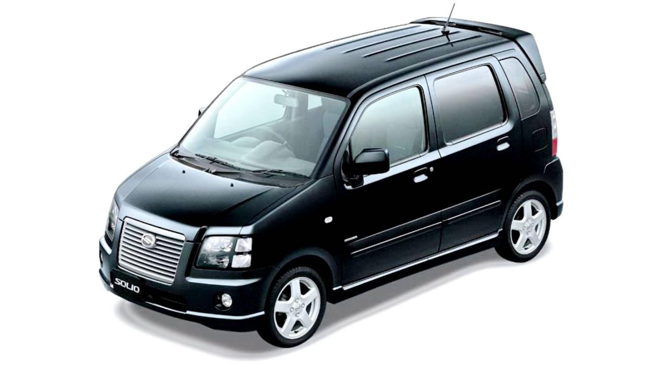 Suzuki Solio I 2005 - 2010 Microvan #4