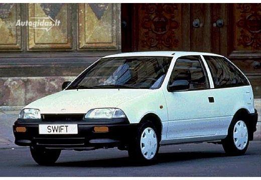 Suzuki Swift II Restyling 1995 - 2003 Sedan #4