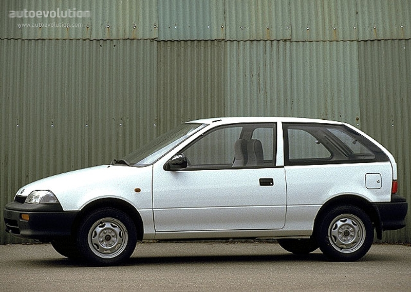 Suzuki Swift II 1989 - 1995 Sedan #3