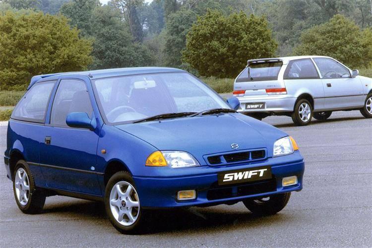 Suzuki Swift II Restyling 1995 - 2003 Hatchback 3 door #1