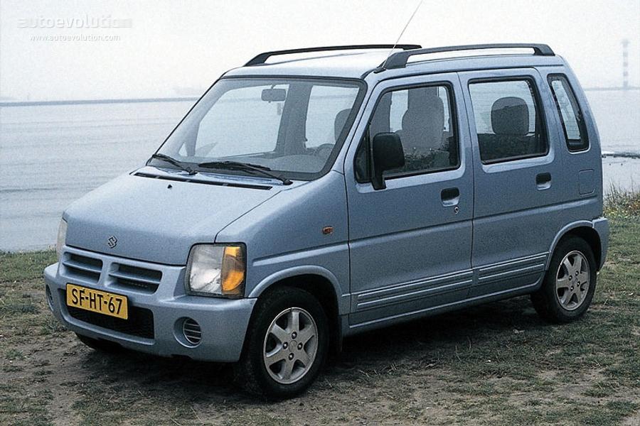 Suzuki Wagon R+ I 1997 - 2000 Microvan #7