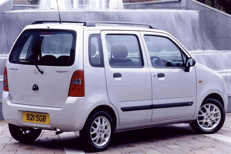 Suzuki Wagon R+ II 2000 - 2008 Microvan #6