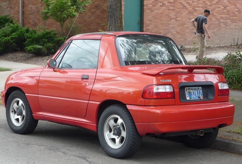 Suzuki X-90 1995 - 2000 SUV #1