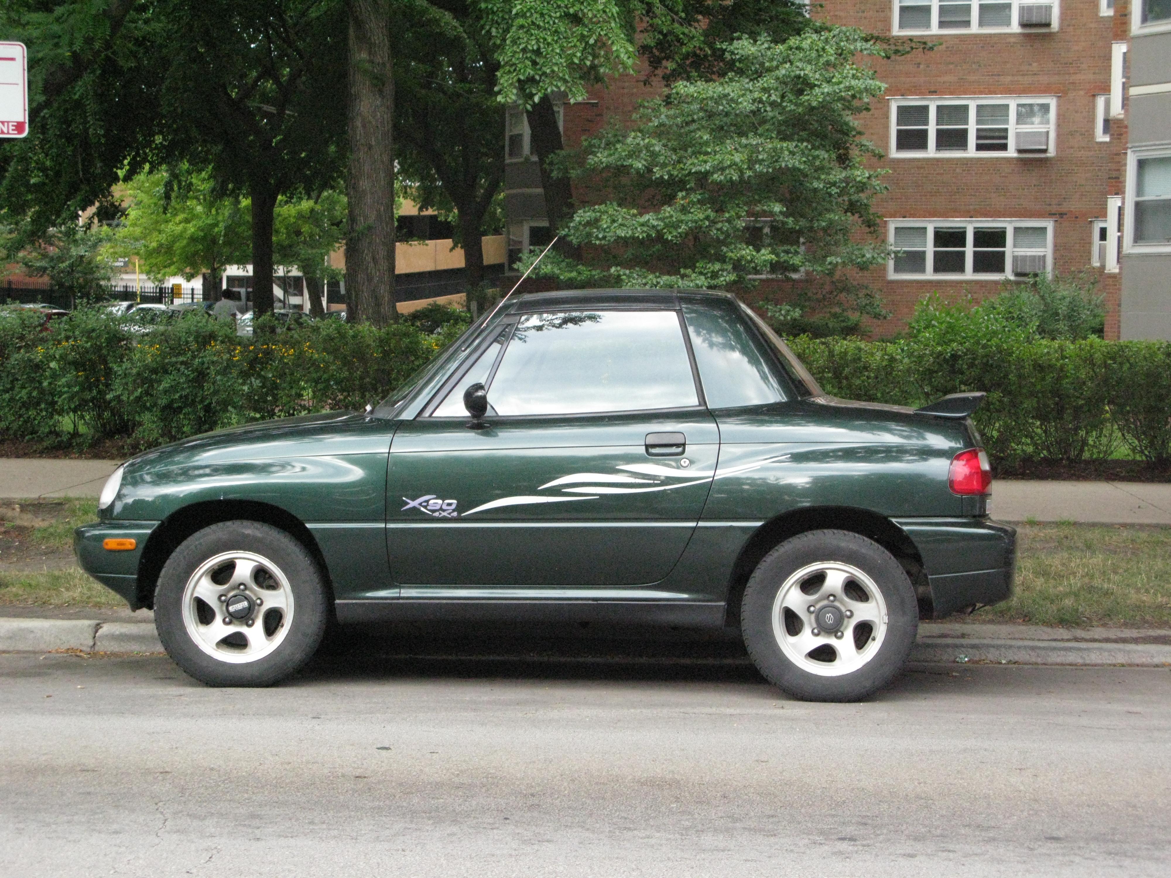Suzuki X-90 1995 - 2000 SUV #3