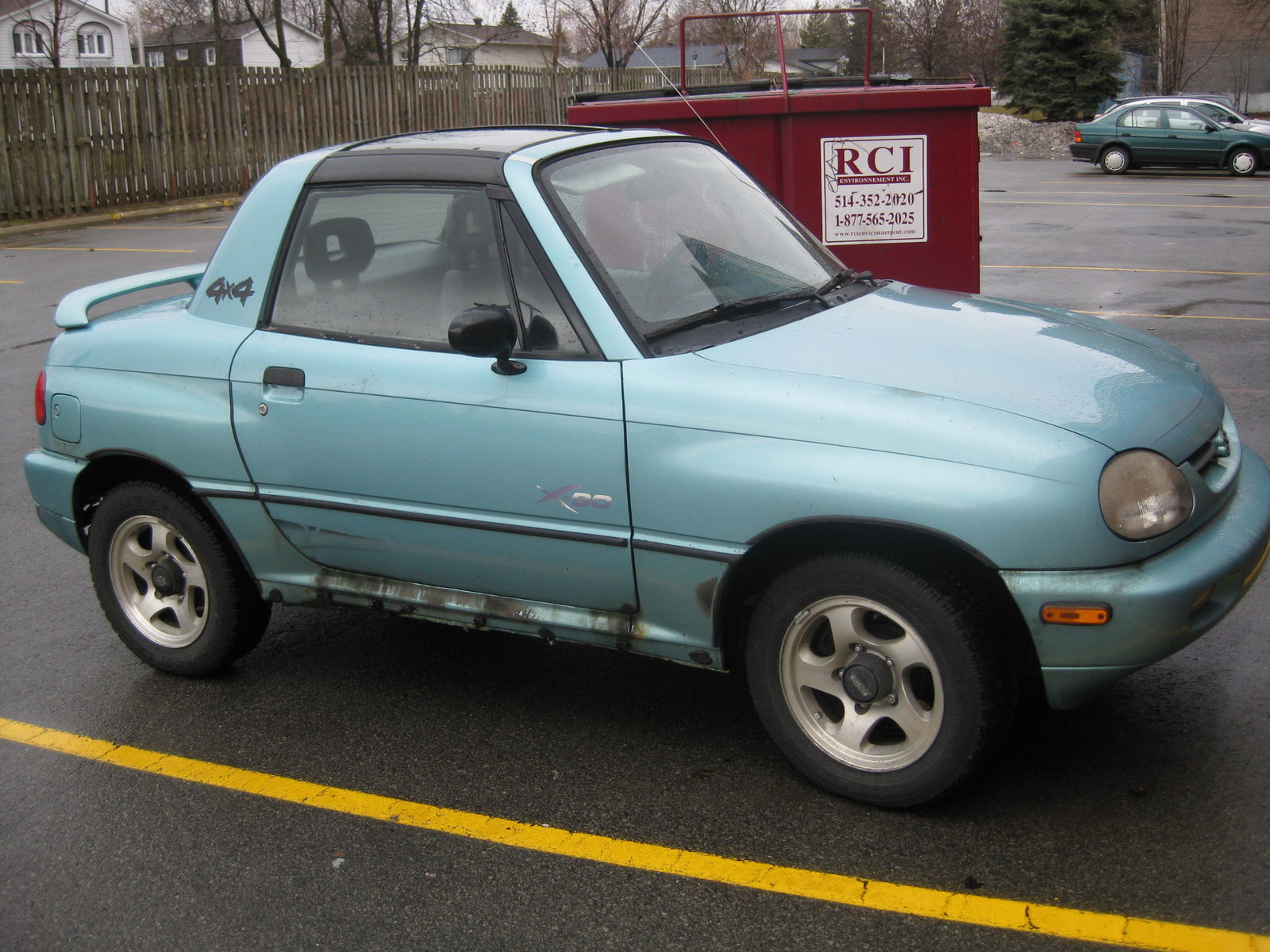 Suzuki X-90 1995 - 2000 SUV #6