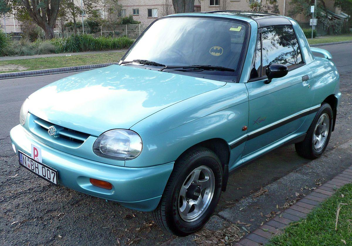 Suzuki X-90 1995 - 2000 SUV #7
