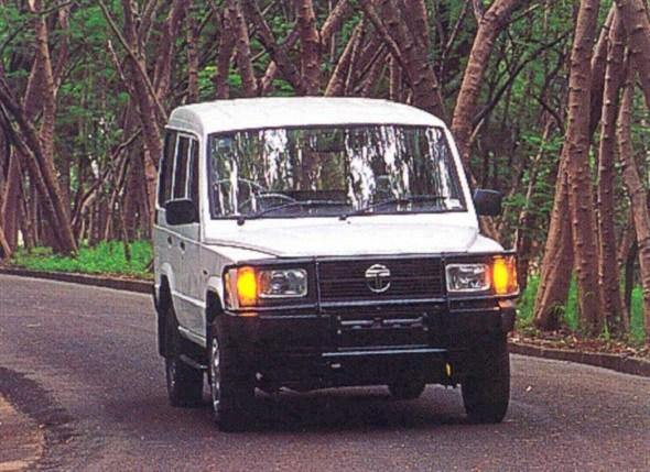 TATA Sumo 1996 - now SUV 5 door #1