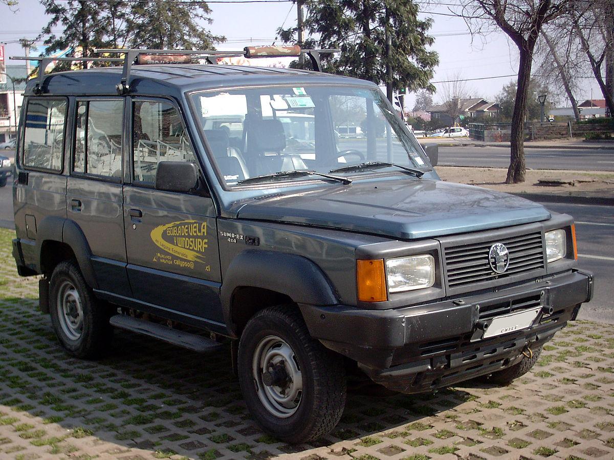 TATA Sumo 1996 - now SUV 5 door #8
