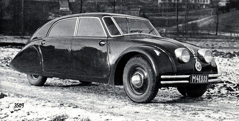 Tatra 77 1934 - 1938 Sedan #7