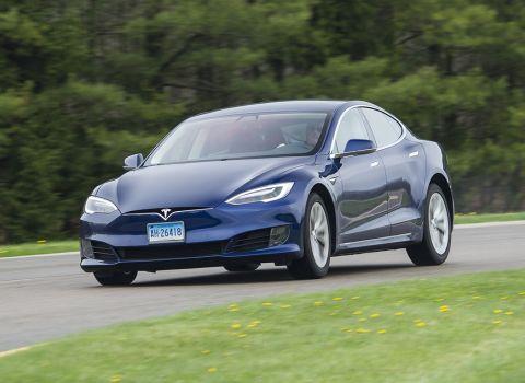 Tesla Model S I 2012 - 2016 Liftback #1