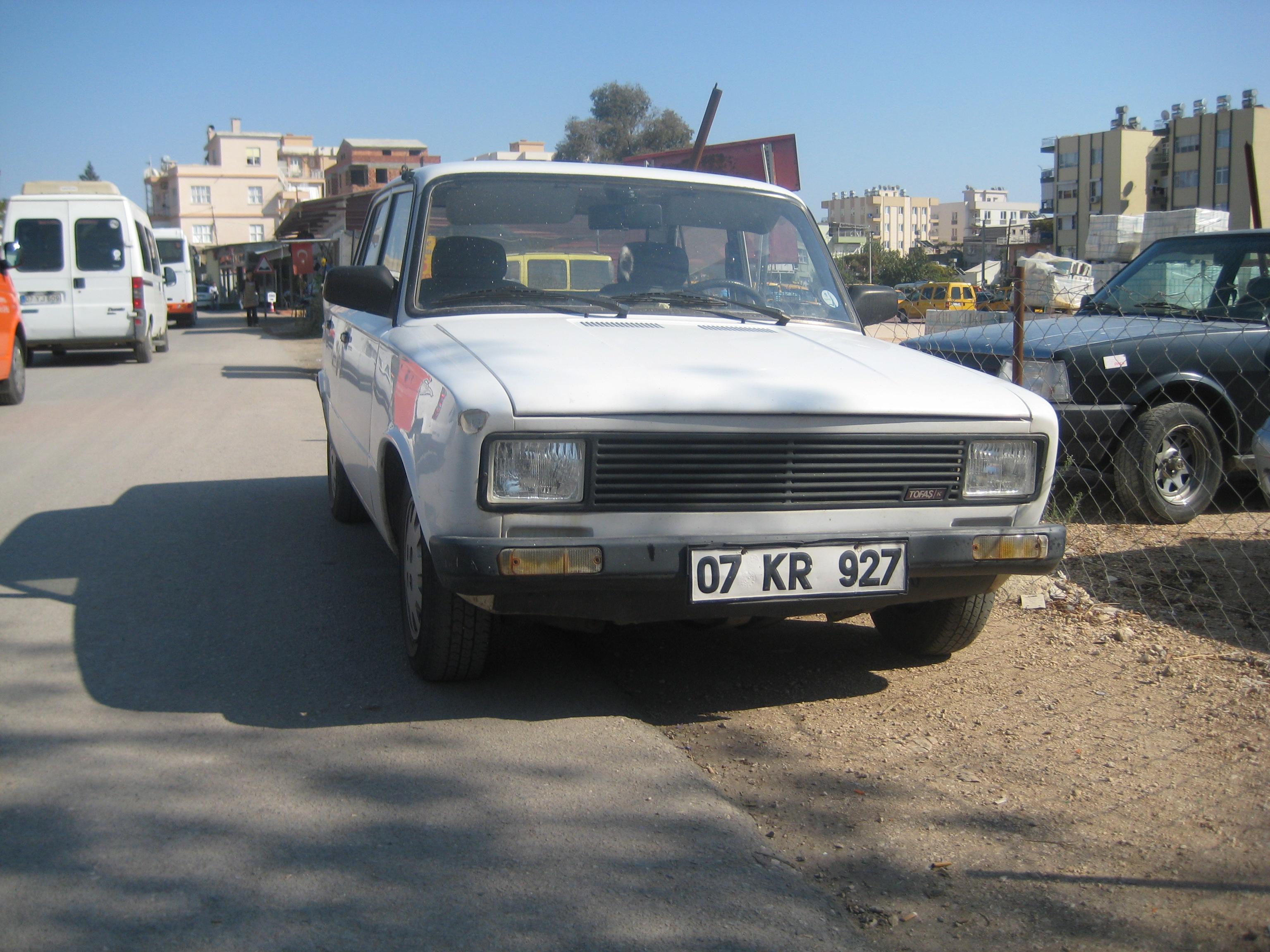 Tofas Serce 1985 - 1996 Sedan #3