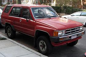 Toyota Hilux Surf I 1984 - 1989 SUV 3 door #7