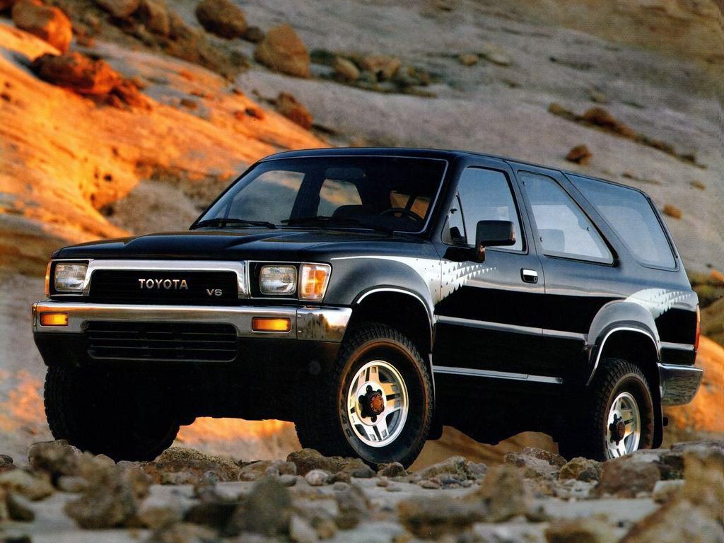 Toyota 4Runner II 1989 - 1995 SUV 3 door #4