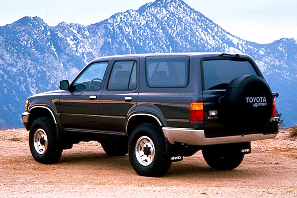 Toyota 4Runner II 1989 - 1995 SUV 3 door #3
