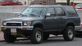 Toyota 4Runner II 1989 - 1995 SUV 3 door #2