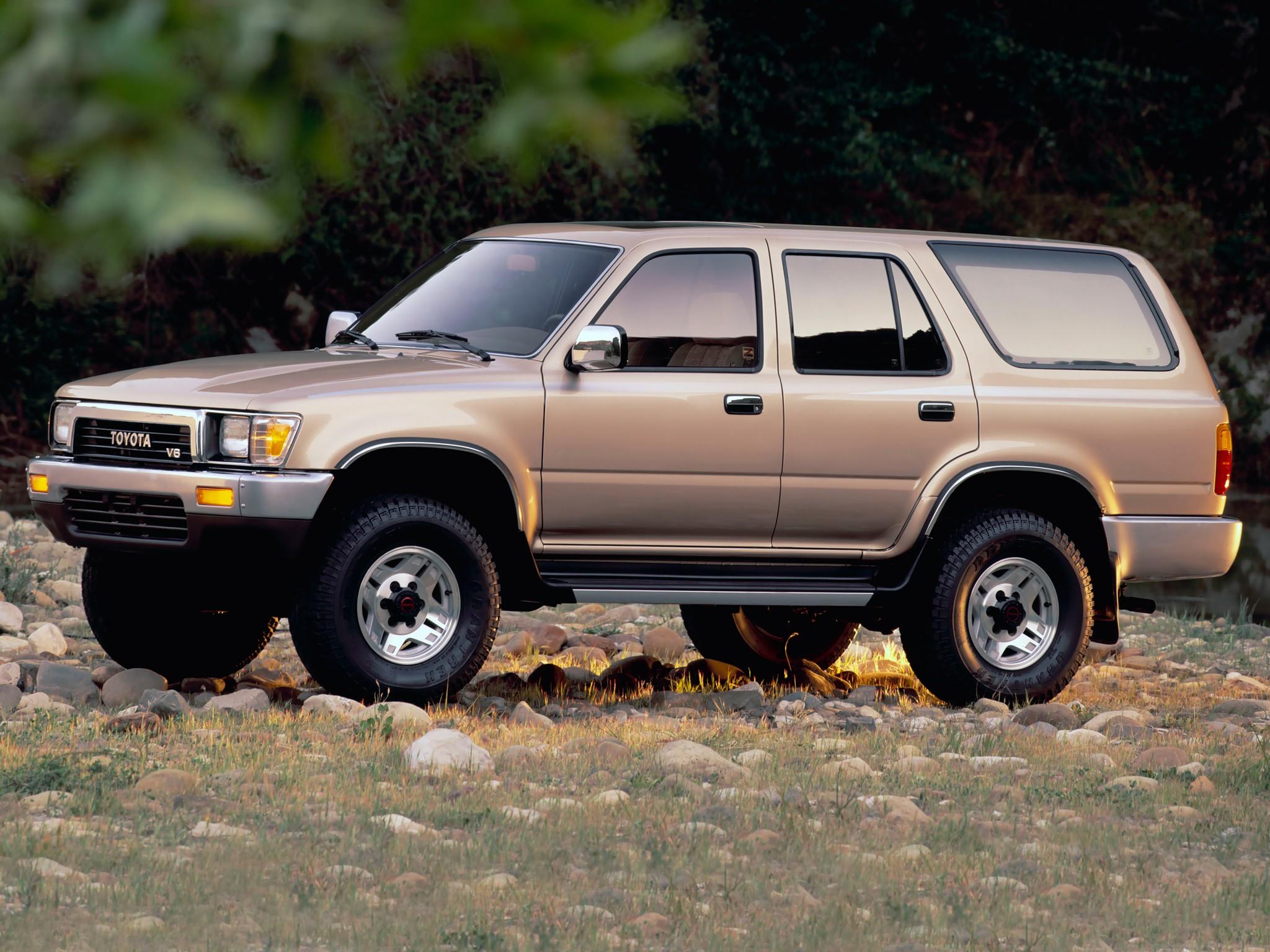 Toyota 4Runner II 1989 - 1995 SUV 3 door #1