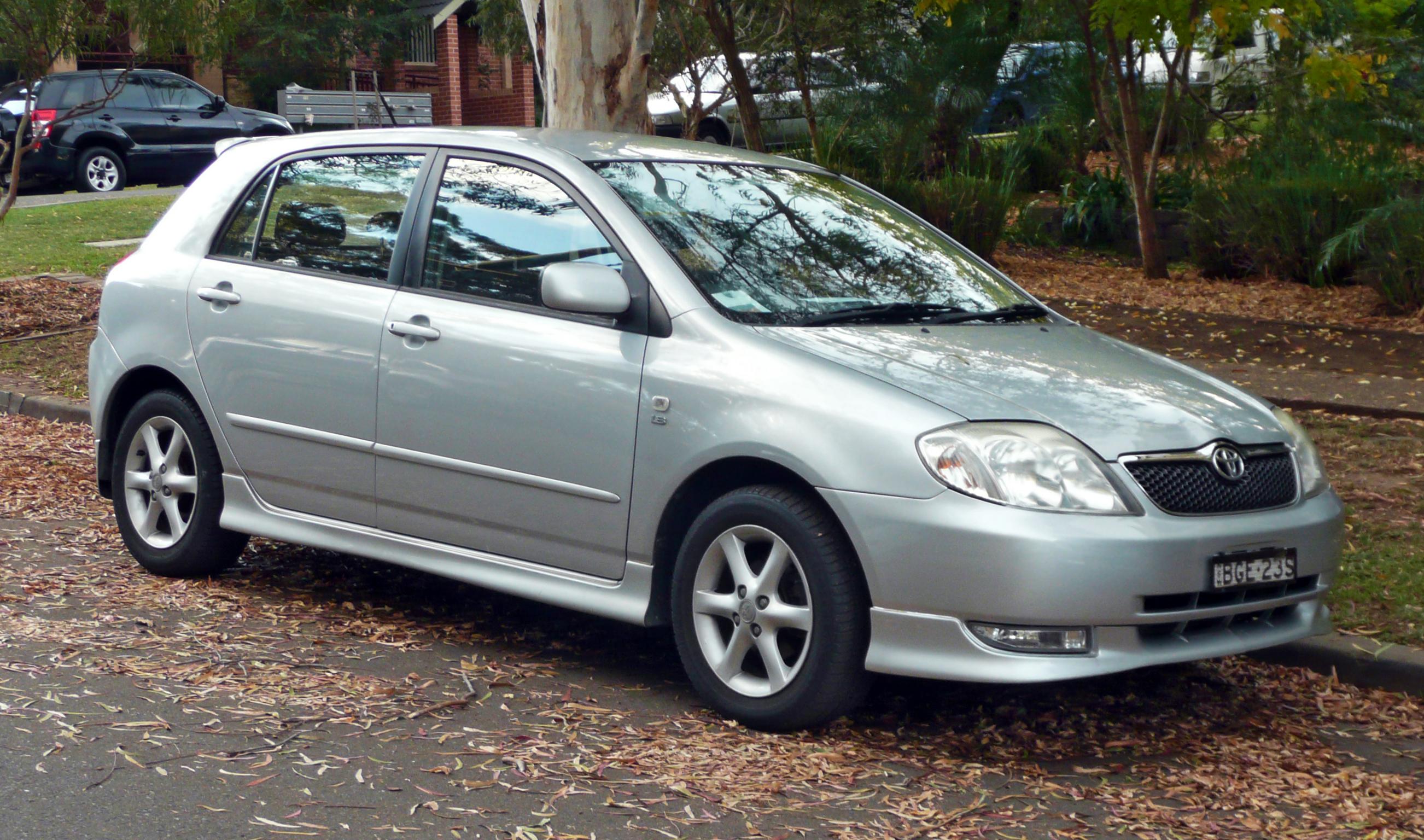 Toyota Allex 2001 - 2006 Hatchback 5 door #3