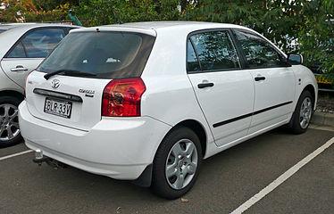 Toyota Allex 2001 - 2006 Hatchback 5 door #8