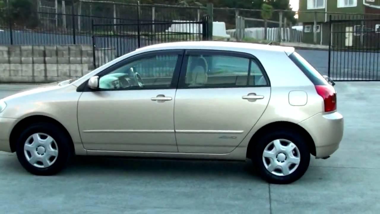 Toyota Allex 2001 - 2006 Hatchback 5 door #6