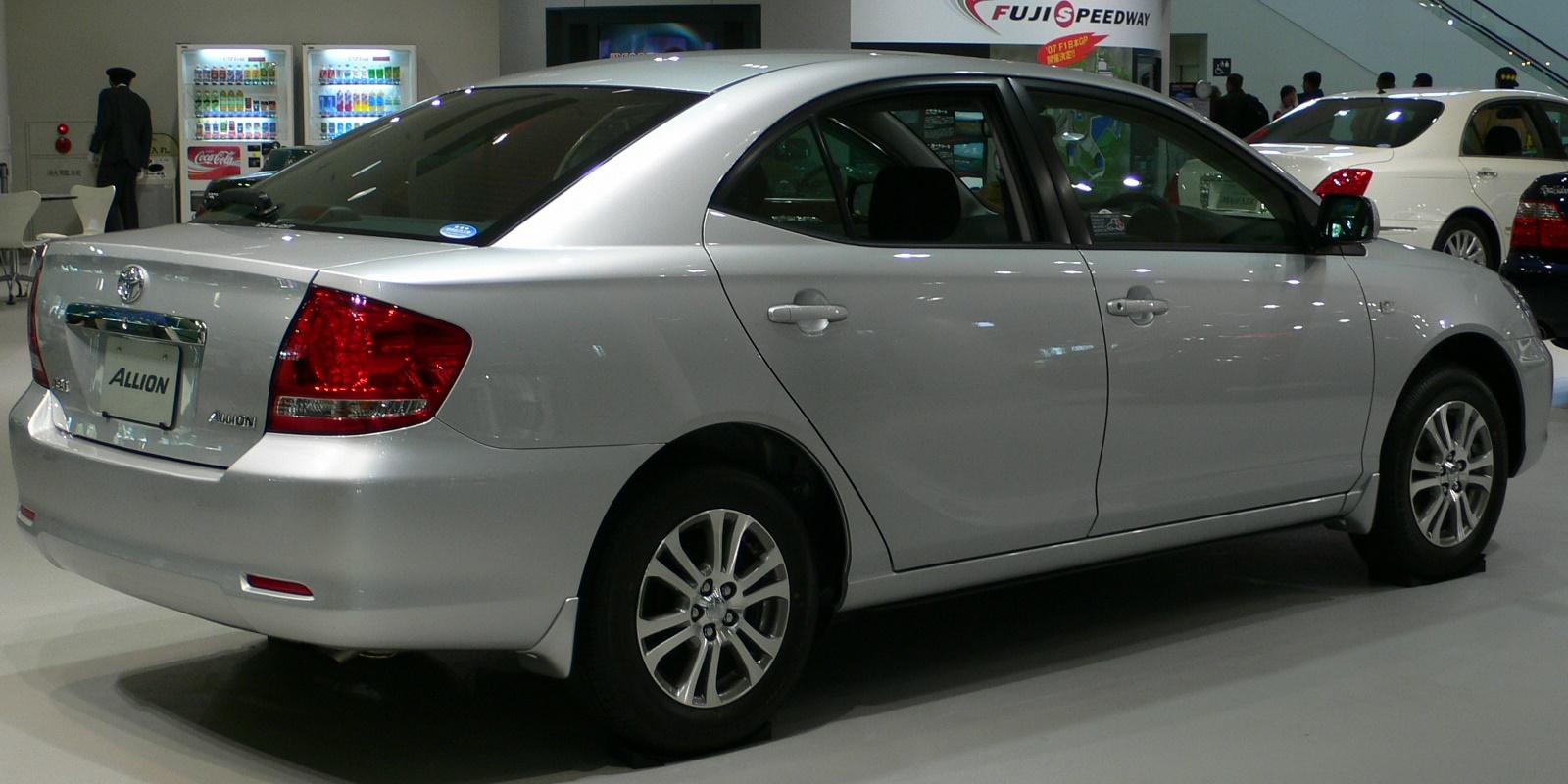 Toyota Allion I Restyling 2004 - 2007 Sedan #7