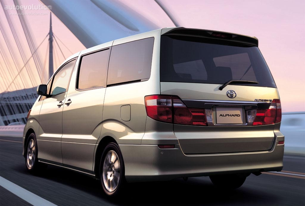 Toyota Alphard I 2002 - 2005 Minivan #7