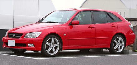 Toyota Altezza 1998 - 2005 Station wagon 5 door #7