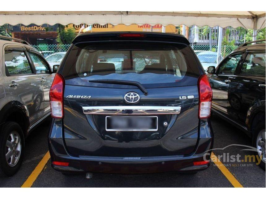 Toyota Avanza II 2011 - now Minivan #4