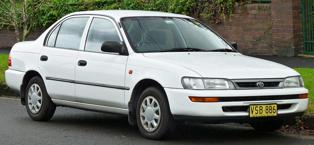 Toyota Corolla II V (L50) 1994 - 1999 Hatchback 3 door #7
