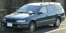 Toyota Caldina I 1992 - 1995 Station wagon 5 door #8
