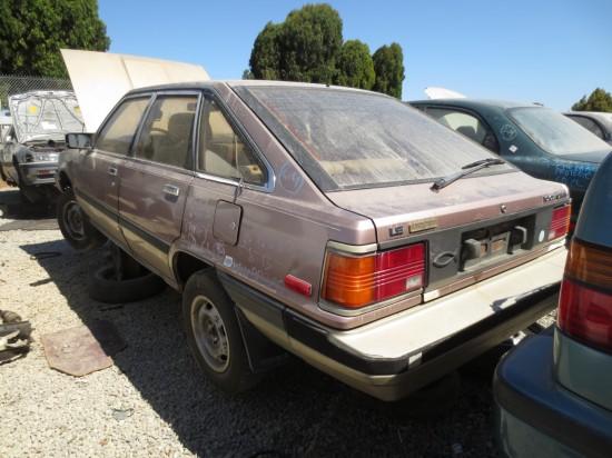 Toyota Camry I (V10) 1983 - 1986 Liftback #7