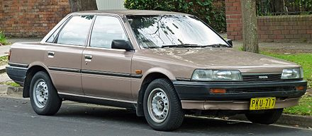 Toyota Vista II (V20) 1986 - 1990 Sedan #7